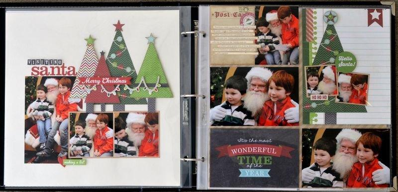 Simple Stories December Documented + Allison Davis Sketch