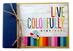 Live Colorfully - 4x6 SN@P! Binder Mini Album