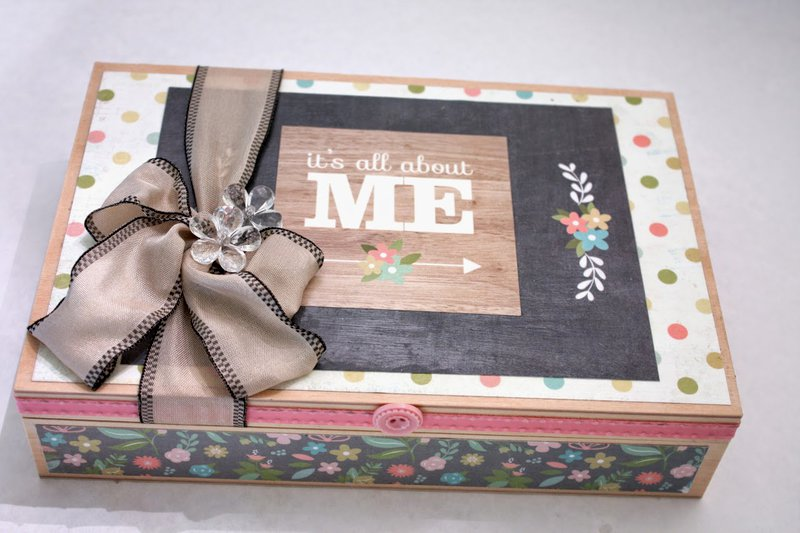 All About Me Baby Box from Denise Hahn
