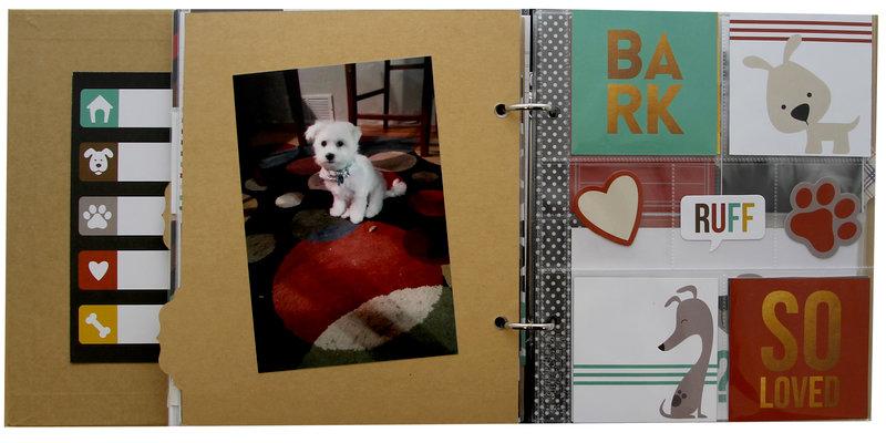 Dog Snap Binder