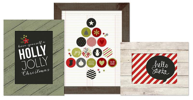 Simple Stories DIY Christmas Frameables