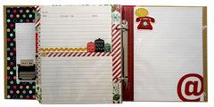 Simple Stories Homespun Recipe Sn@p! Binder Class Kit