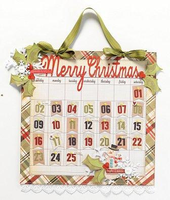 Handmade Holiday December Calendar