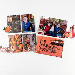 Simple Stories 6x8 Pocket Page featuring the Simple Vintage Halloween Collection