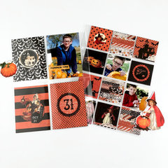 6x8 Pocket Page Featuring Simple Vintage Halloween Collection