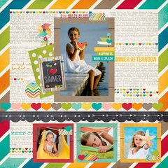 Simple Stories - new I {Heart} Summer!