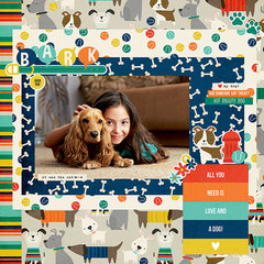 NEW! Simple Stories Life is Ruff Simple Set