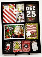 Christmas Shadowbox Frame