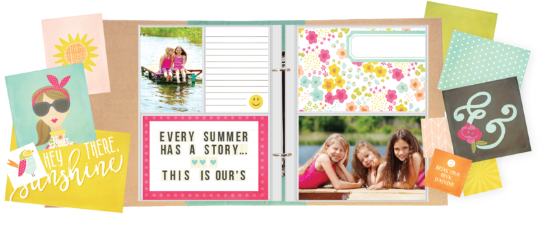 NEW! Simple Stories Sunshine & Happiness!