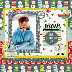 NEW! Simple Stories Sub Zero Collection Kit