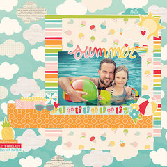 NEW!  Simple Stories Summer Days!