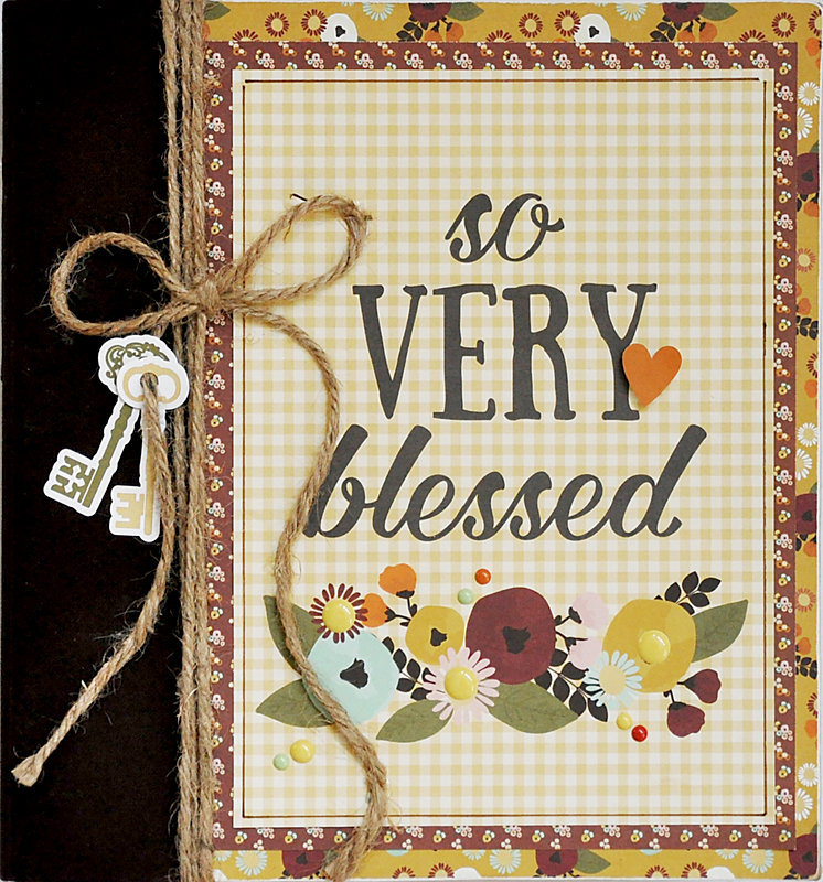 NEW!  Simple Stories Vintage Blessings