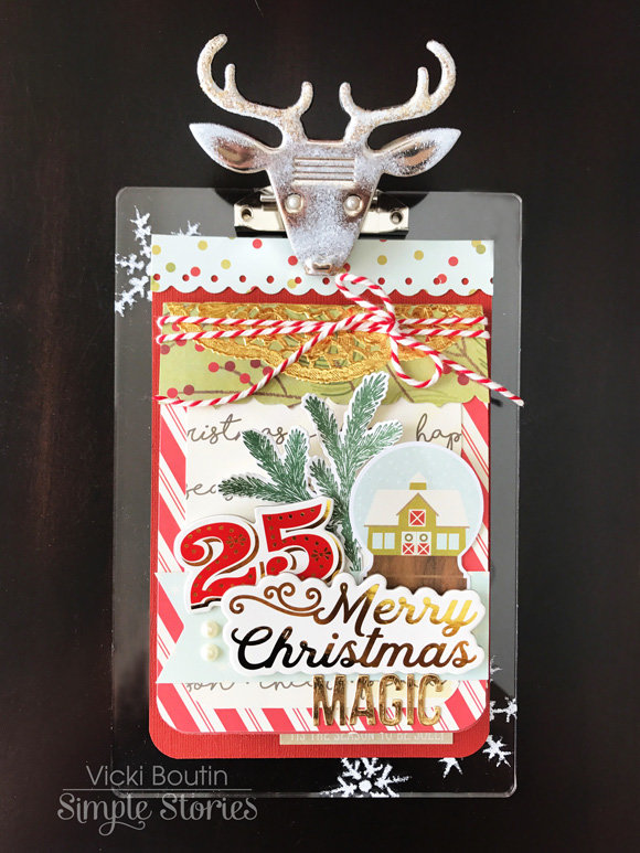 Classic Christmas Mini Book