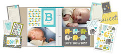NEW!  Simple Stories SN@P! Sets - Baby Boy