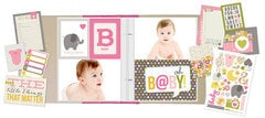 NEW!  Simple Stories SN@P! Sets - Baby Girl