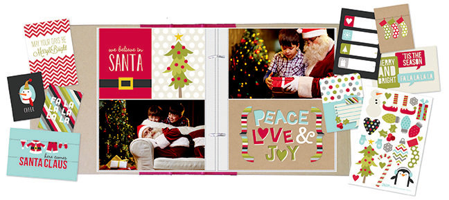NEW!  Simple Stories SN@P! Sets - Christmas