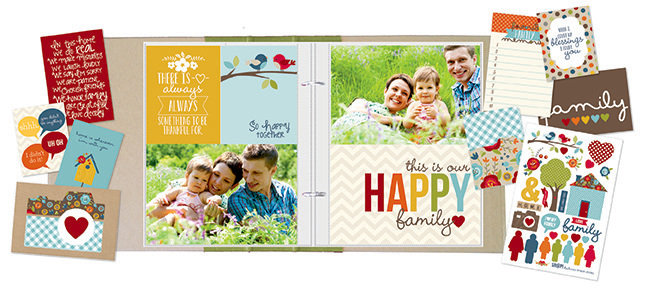 NEW!  Simple Stories SN@P! Sets - Family