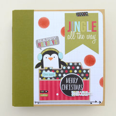 simple stories christmas snp binder