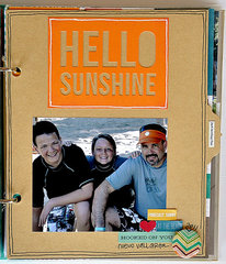 Simple Stories SN@P! Binder with I Heart Summer