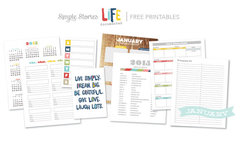 January Free Printables - Life Documented Planner