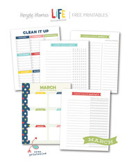 March Free Printables - Life Documented Planner