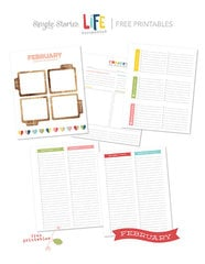 February Free Printables - Life Documented Planner