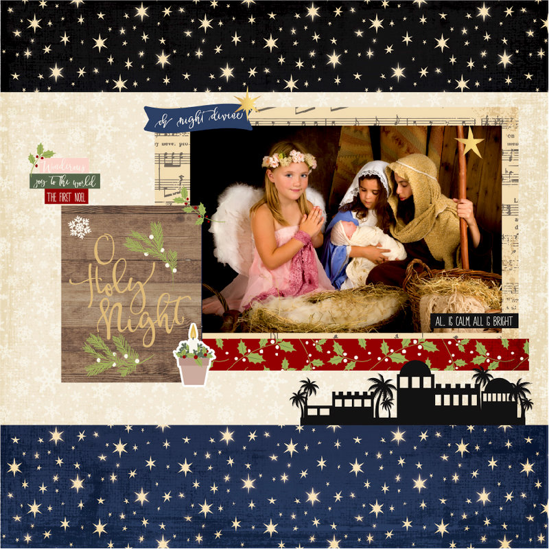 NEW!  Simple Stories O Holy Night