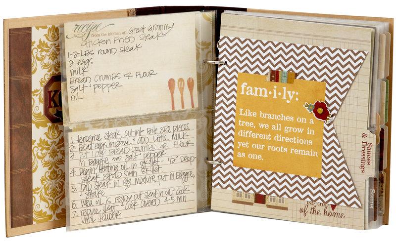 Legacy Family Recipe Sn@p! Binder
