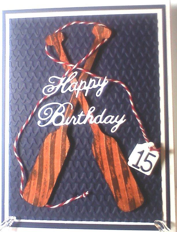 Happy Birthday Rower