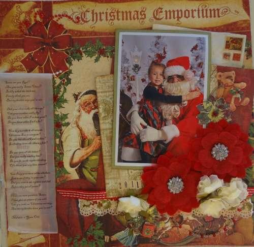 Santa's Lap***Swirlydoos***Christmas Wishes