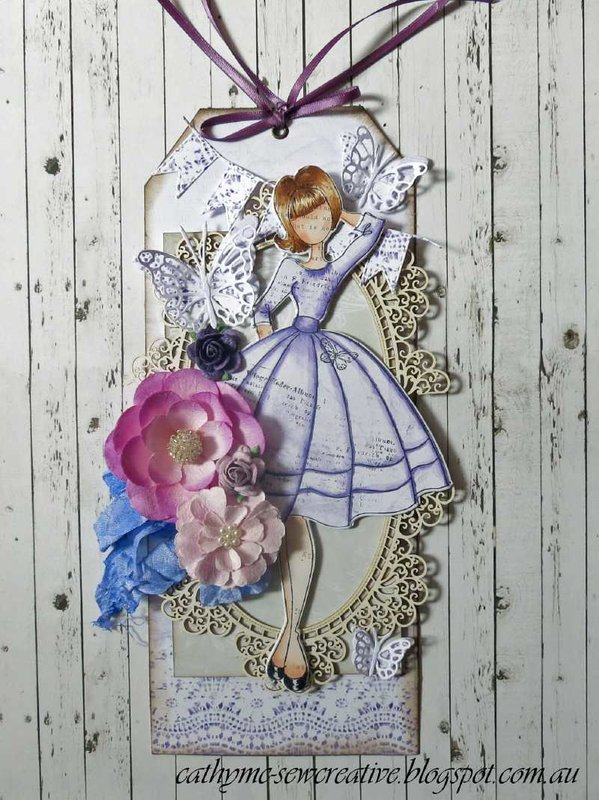 Audrey Doll Tag
