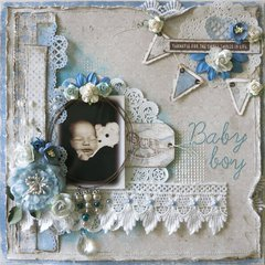 Baby Boy ~ Maja Designs ~