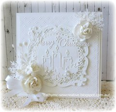 All White Christmas Card