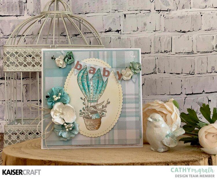 Baby Boy Card ~ Little Treasures