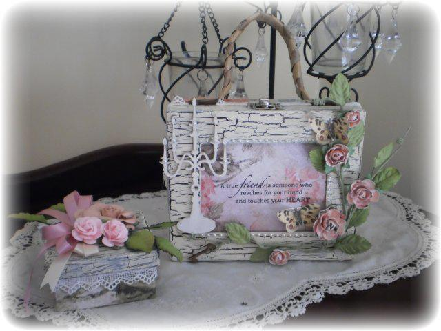 Shabby Chic Bag and Gift Box