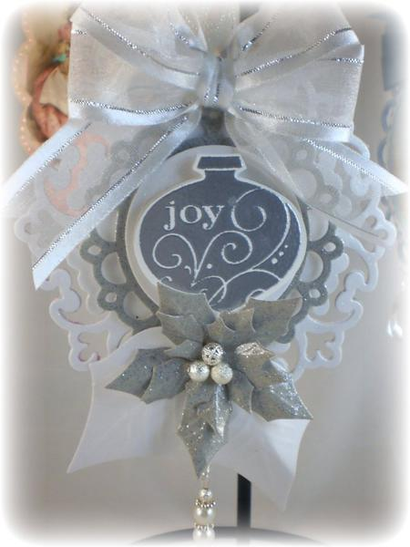 Christmas ornament white