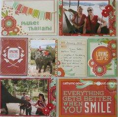 Phuket ~ Multi Pocket Page