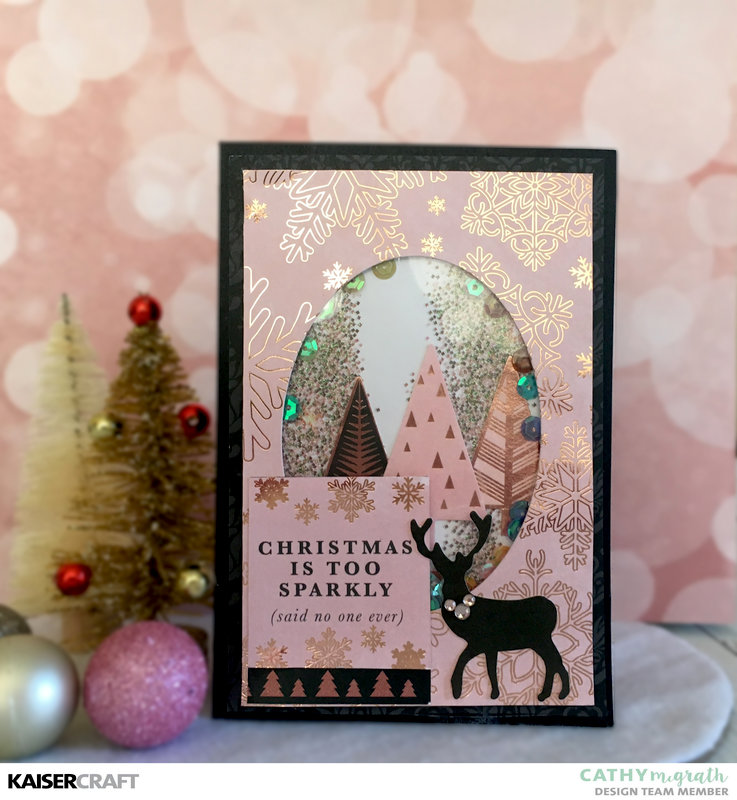 Sparkle Shaker Card