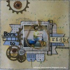 Born To Ride ~ Maja Design ~