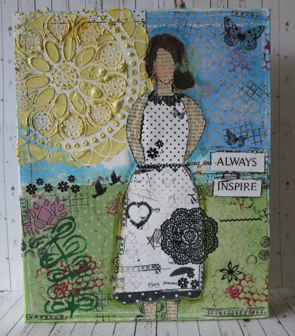 Always Inspire Canvas ~ Maja Design