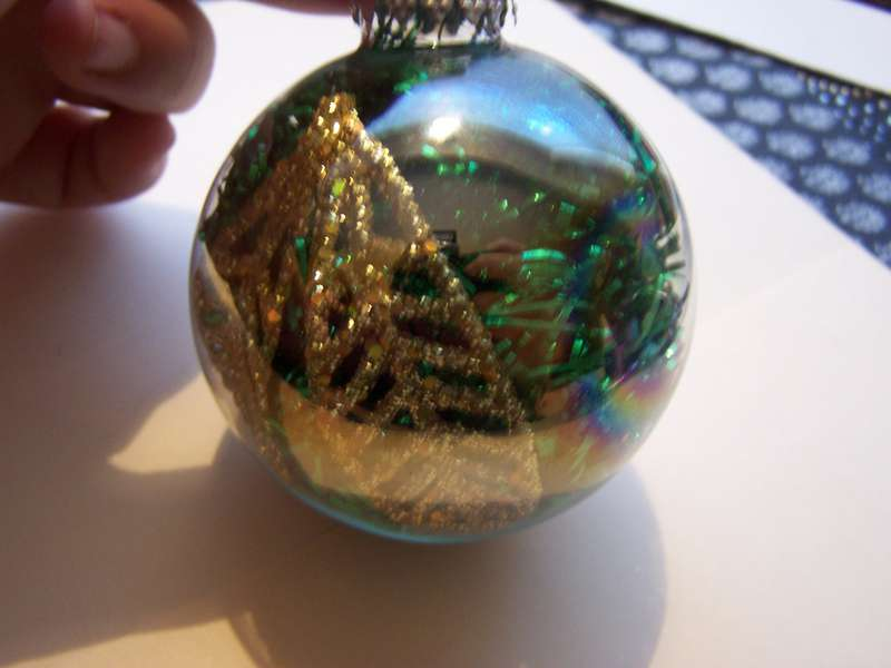 Anything Goes Ornament