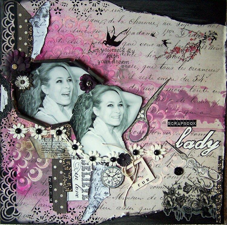 Scrapbook lady