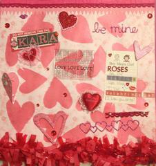 Kara's Valentine's Day Card