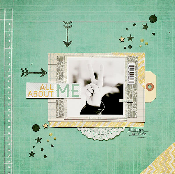 All about me *Scraptastic Club*