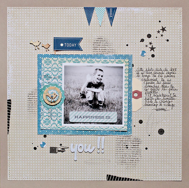 Happiness is you {Scrapstatic Club}