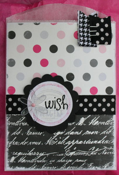 envelope for card