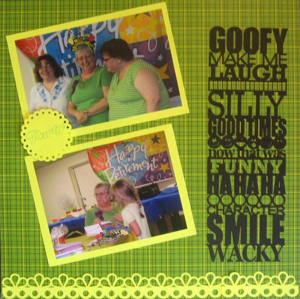 Goofy-Diecutting machine class/CG 2010/Pokey Peas
