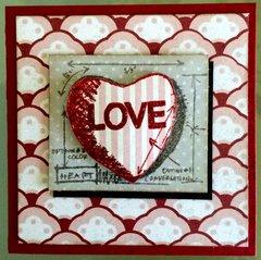 Tim Holtz Valentine Mini Blueprints