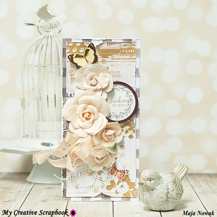 Thinking of You *DT MY Creative Scrapbook*