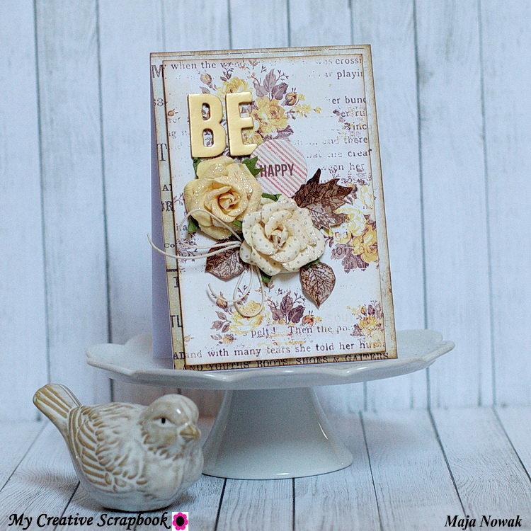 Be Happy *DT My Creative Scrapbook*